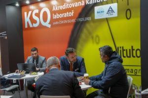 MSV Brno 2018 - stánek F - akreditovaná kalibrační laboratoř KSQ