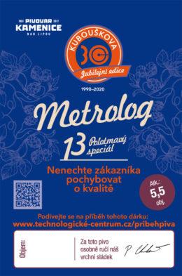 Pivo Metrolog 13