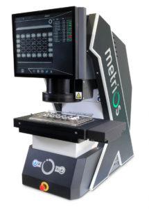 Vysoká přesnost měření s digitálním profil projektorem Metrios